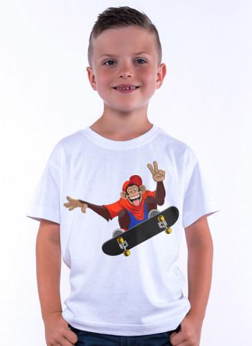 Šimpanz se skateboardem - Tulzo