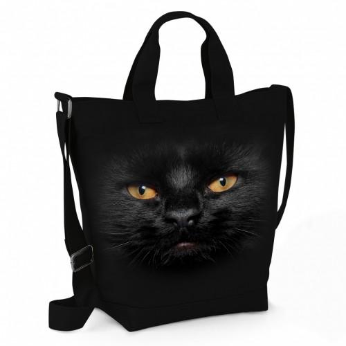 Kabelka Černá Kočka - Tulzo
